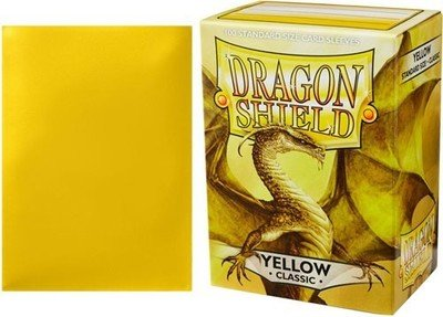 Dragon Shield Sleeves Yellow