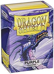 Dragon Shield Sleeves Purple