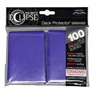 Ultra Pro Eclipse Standard Sleeves Royal Purple
