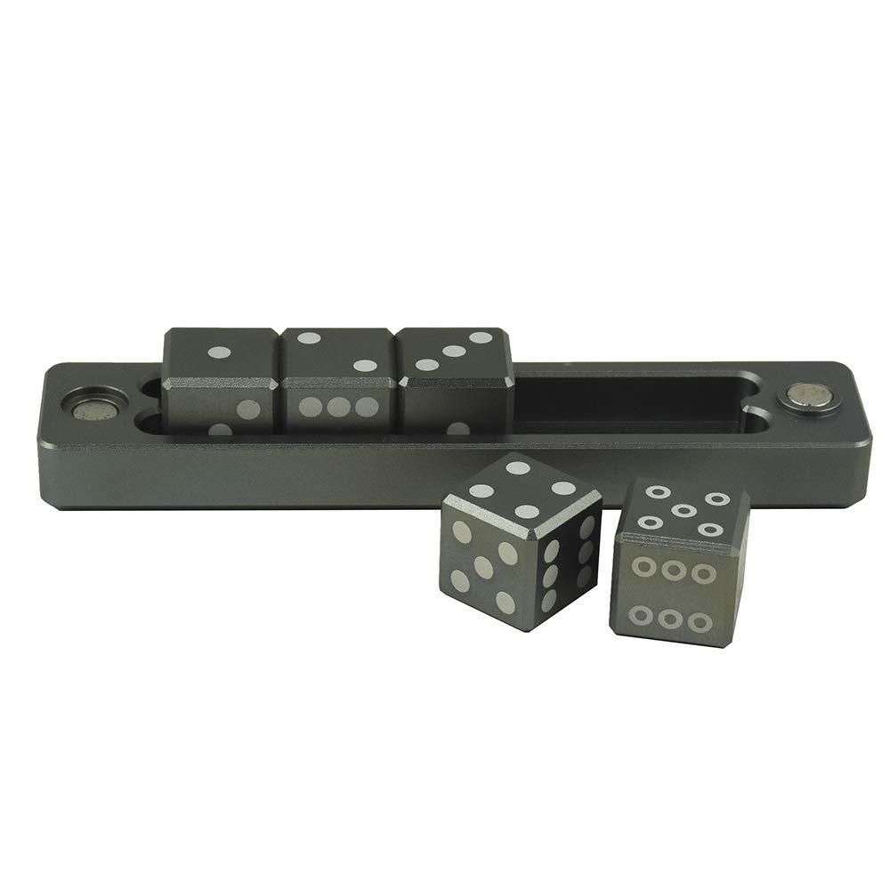 Ultra Pro - Ultra Pro: Gravity Dice D6 (5 Dice Set)- Black Forest N197GSNQYB1CT