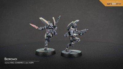 Infinity: ALEPH Ekdromoi (Combi Rifle)