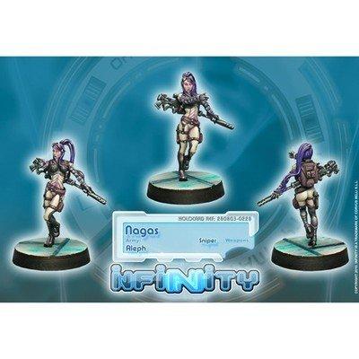 Infinity: ALEPH Nagas (Sniper)