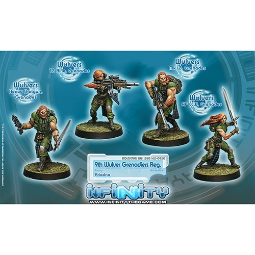 Infinity: Ariadna 9th Wulver Grenadiers Regiment KPRX1HAYHKCWE