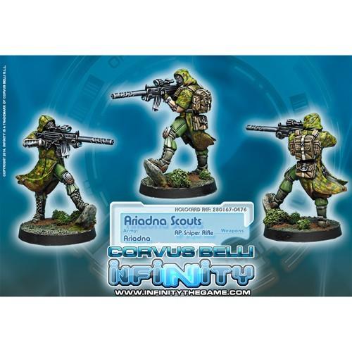 Infinity: Ariadna Ariadna Scouts (AP Sniper) F4FMF315G812G