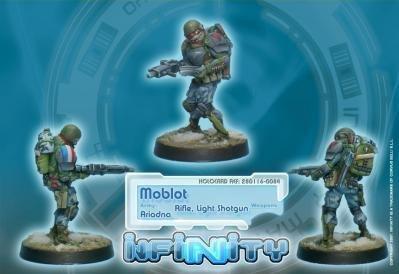 Infinity: Ariadna Moblot (Rifle, Light Shotgun)