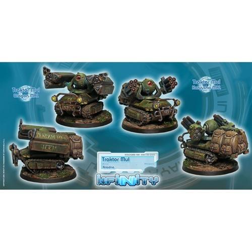 Infinity: Ariadna Traktor Muls. Regiment of Artillery and Support Y3YBJP5CQW6T6