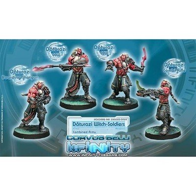 Infinity: Combined Army Daturazi Witch-Soldiers