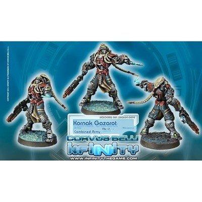 Infinity: Combined Army Kornak Gazarot Morat Superior Warrior-Officer (MK12)