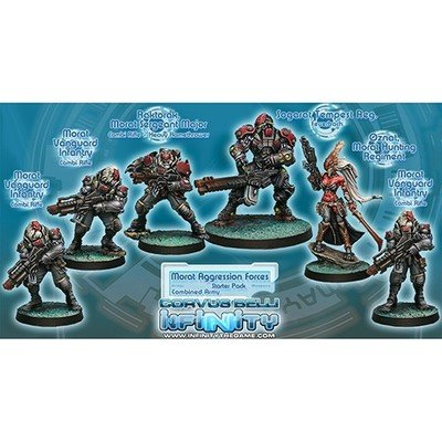 Infinity: Combined Army Morat Aggression Forces Sectorial Starter Pack