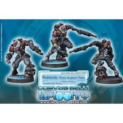Infinity: Combined Army Raktorak Morat Sergeant Major