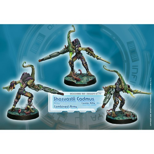 Infinity: Combined Army Shasvastii Cadmus (Combi Rifle) BQHZTCWJED91J