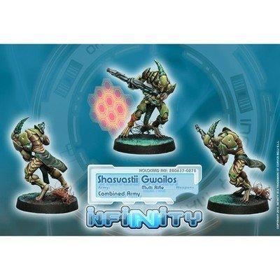 Infinity: Combined Army Shasvastii Gwailos (MULTI Rifle)