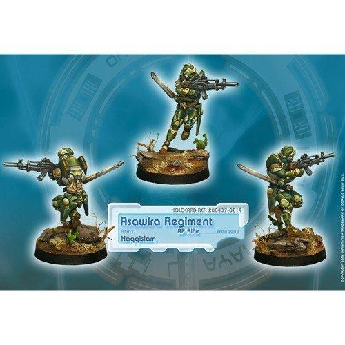 Infinity: Haqqislam Asawira Regiment (AP Rifle)