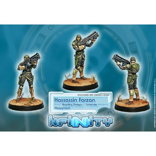 Infinity: Haqqislam Hassassin Farzans (Boarding Shotgun, Contender) 2DM71AH1T6ZDW