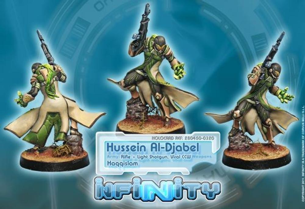 Infinity: Haqqislam Hussein Al-Djabel, Hassassin Fiday (Rifle + Light Shotgun, Viral CCW) PRBCV49JDBCJ2