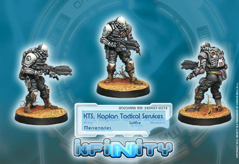 Infinity: Haqqislam KTS, Kaplan Tactical Services (Spitfire) WNG0XKGKEQGFE