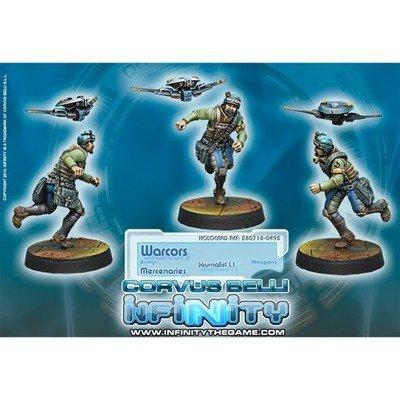 Infinity: Mercenaries Warcors, War Correspondents