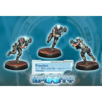 Infinity: Nomads Prowlers (Combi Rifle, ADHL)