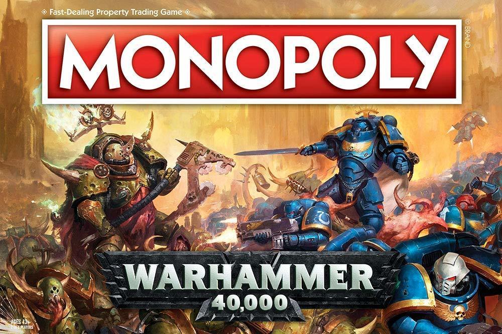 Warhammer 40k Monopoly MW4QNGSHARE4W
