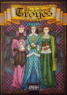 Troyes: The Ladies of Troyes Expansion