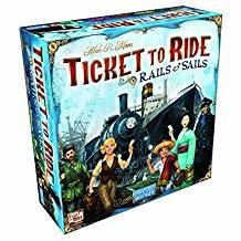 Ticket To Ride Rails And Sails KEAH0XKJSZA38