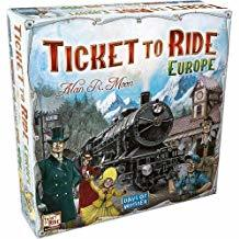 Ticket To Ride Europe HW2AQ9Y2E62TE