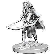Pathfinder Deep Cuts Unpainted Miniatures: Human Female Fighter WDET4F1Q28PXP