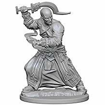 Pathfinder Deep Cuts Unpainted Miniatures: Human Male Monk X3739RHZ8Q28J