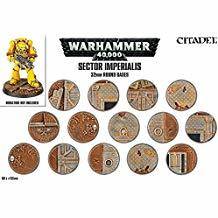 SECTOR IMPERIALIS: 32MM ROUND BASES JVYSHV5456PFP