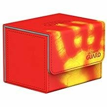 Ultimate Guard: Sidewinder ChromiaSkin Deckbox 100+: Red