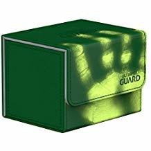 Ultimate Guard: Sidewinder ChromiaSkin Deckbox 100+: Green