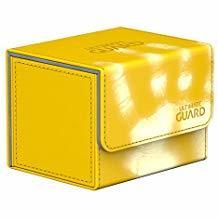 Ultimate Guard Sidewinder ChromiaSkin Yellow Deck Case 100+ NP66CARSEBK20