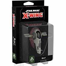 Star Wars X-Wing (2nd Edition): Slave I Expansion Pack 6QW1CXZ6GR8VP