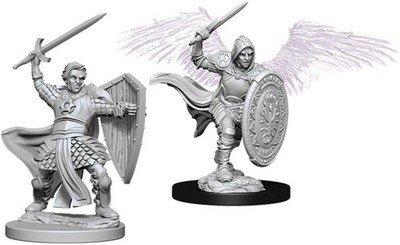 Dungeons & Dragons: Nolzur's Marvelous Unpainted Miniatures - Aasimar Male Paladin