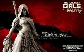 Cléante des Orfraies, Champion of the DoO CG (Sisters - FANTASY)