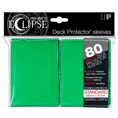 Ultra Pro Eclipse Standard Sleeves Matte Green