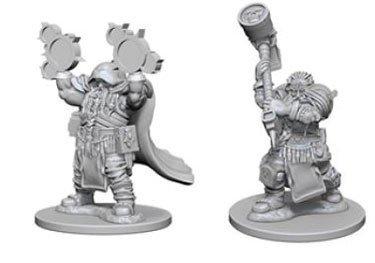 Dungeons & Dragons: Nolzur's Marvelous Unpainted Miniatures - Dwarf Male Cleric