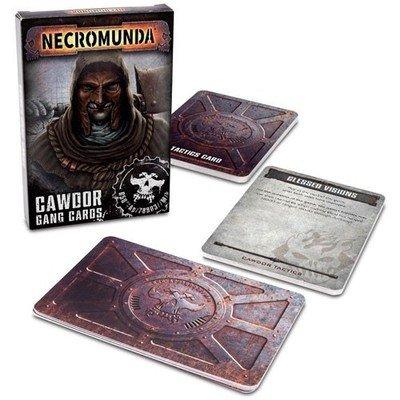 NECROMUNDA: CAWDOR GANG CARDS (ENGLISH)
