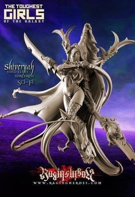 Shiveryah, Sorceress (DE – Fantasy)