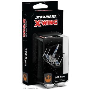 Star Wars X-wing Second Edition T-70 X-wing