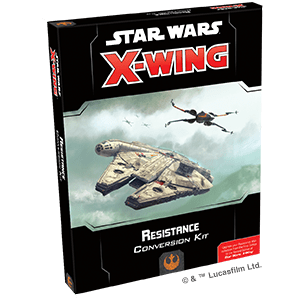 Star Wars X-wing Second Edition Resistance Conversion Kit