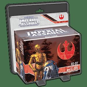 Star Wars Imperial Assault R2-d2 C3po F1642A8QNF268