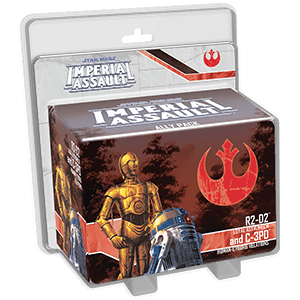 Star Wars Imperial Assault R2-d2 C3po