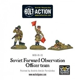 Soviet Army Forward Observer Officers