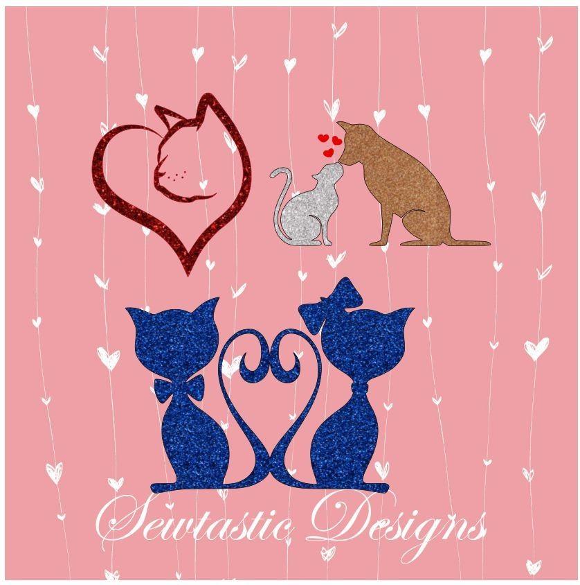 Download Animal Love SVG, Cat SVG, Dog SVG, Cats SVG, Cut File ...