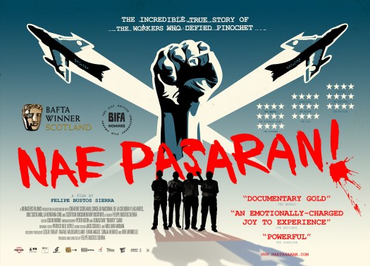 Nae Pasaran UK Cinema Poster (A3) 00000