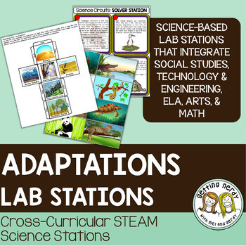 Mutations and Adaptations - Evolution - Science Centers / Lab Stations