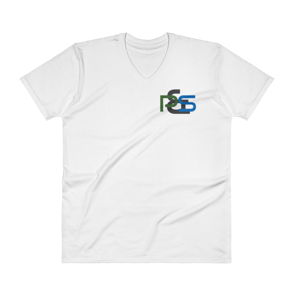 P&S Logo V-Neck T-Shirt