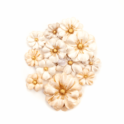 Light Dunes - Pretty Pale Flowers - Prima