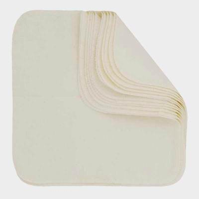 Washable & Reusable Wipes - Natural